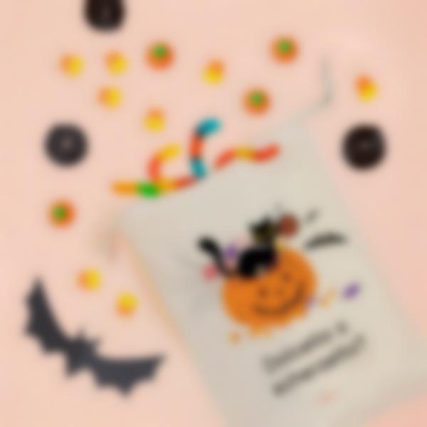 Sacca personalizzata per dolcetti di Halloween