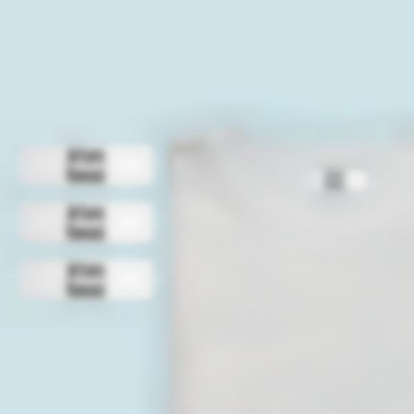 Etichette termoadesive per vestiti - Case di riposo