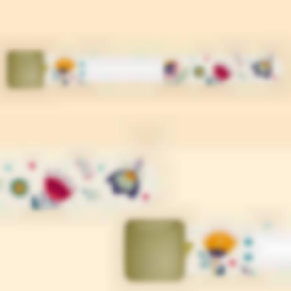 Braccialetto identificativà per bambini - Floreale