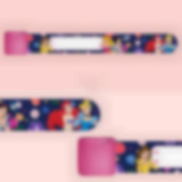 Braccialetto identificativo per bambini - Principesse Fiori Disney