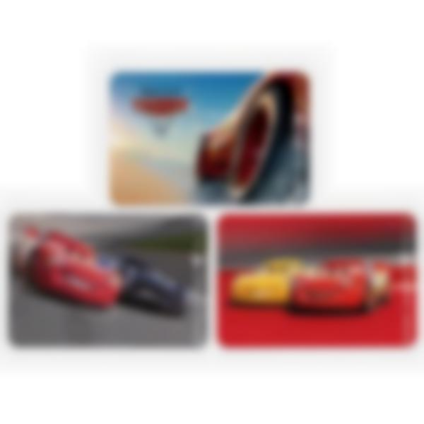 Kit di 3 carte extra per la Ludibox - Porta merenda – Disney Pixar Cars 3