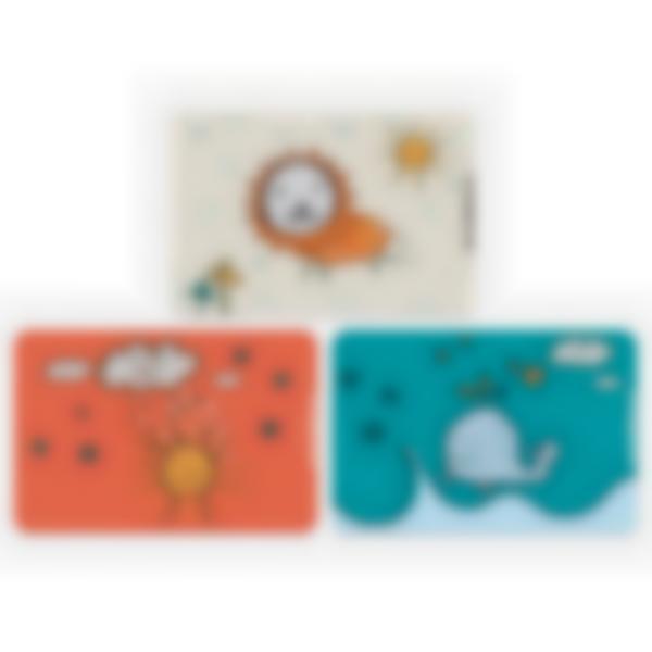 Kit di 3 carte extra per la Ludibox - Porta merenda - Disegni Di Bambini