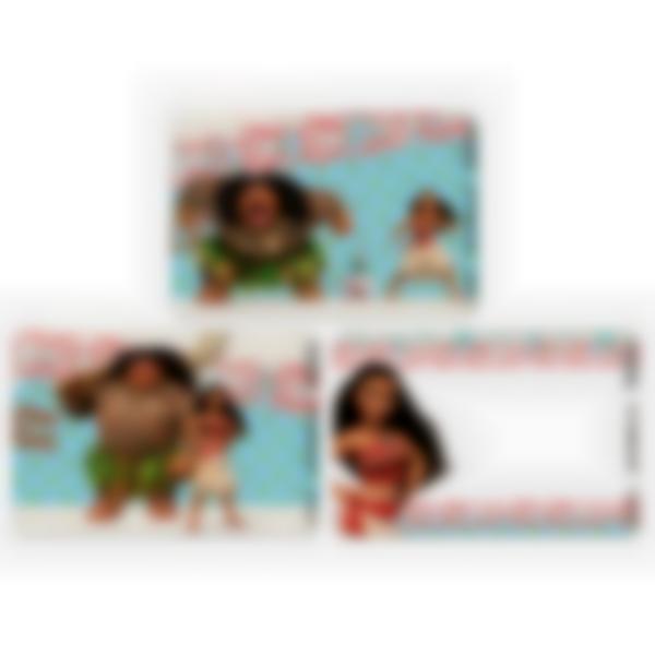 Kit di 3 carte extra per la Ludibox - Porta merenda – Disney Vaiana