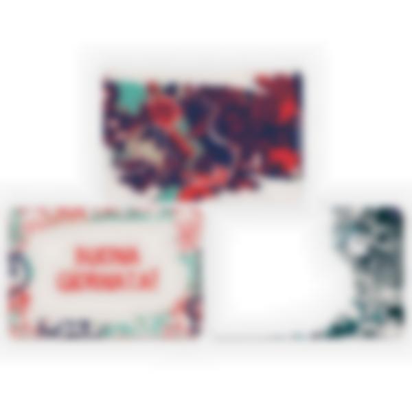 Kit di 3 carte extra per la Ludibox - Porta merenda – Graffiti