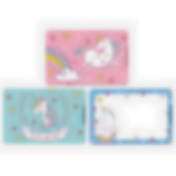 Kit di 3 carte extra per la Ludibox - Porta merenda – Unicorno
