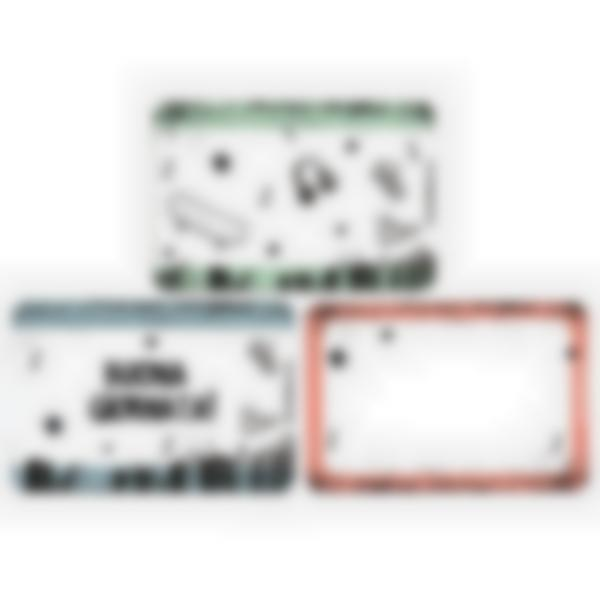 Kit di 3 carte extra per la Ludibox - Porta merenda – Cultura Skate