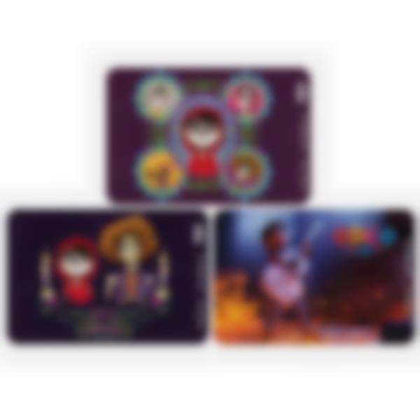 Kit di 3 carte extra per la Ludibox - Porta merenda - Disney Pixar Coco