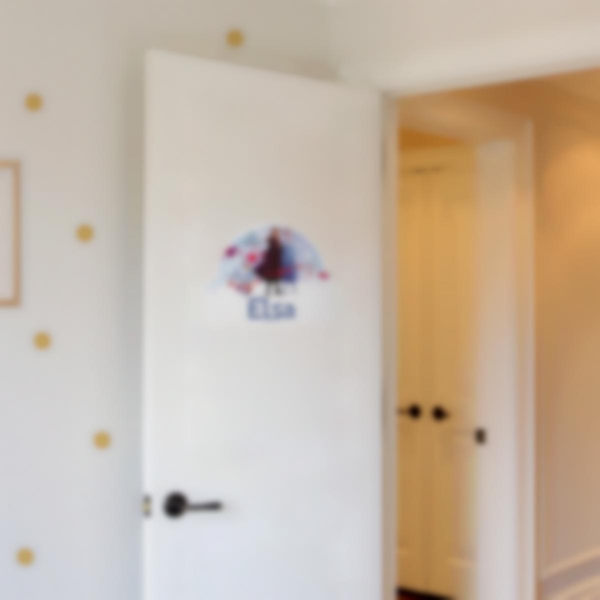 Adesivi porta cameretta personalizzati - Frozen 2