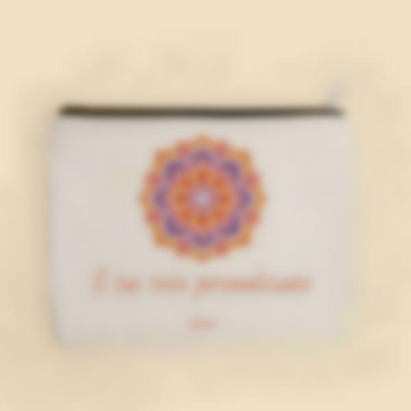 Astuccio con testo personalizzato - Mandala