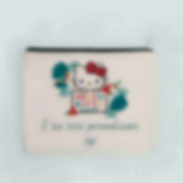 Astuccio con testo personalizzato - Hello Kitty - Tropical