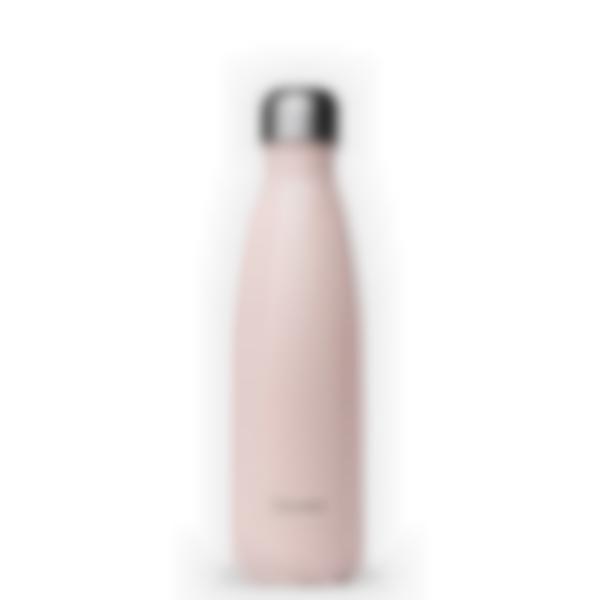 Borraccia Termica acciaio inox Pastel Rosa - 500ml - Qwetch