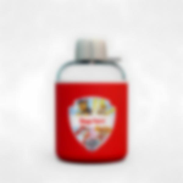 Borraccia termica personalizzata rosso - Paw Patrol