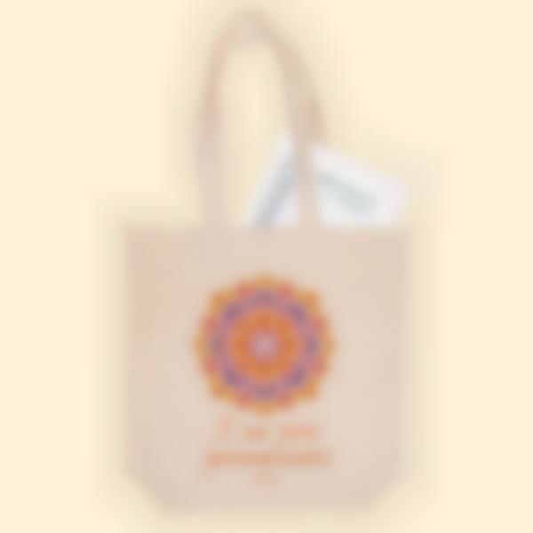 Borsa in tessuto - Mandala