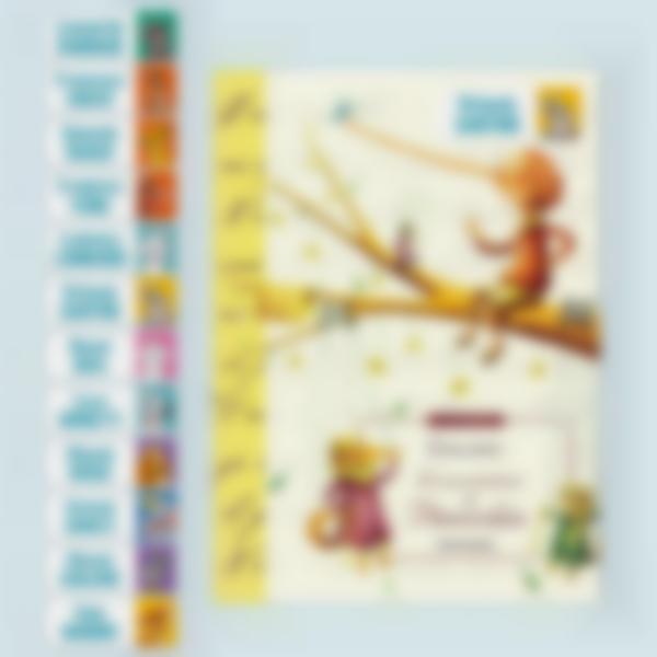 Etichette adesive rettangolari per oggetti - Disney Animali