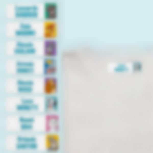 Etichette termoadesive per vestiti - Disney Animali