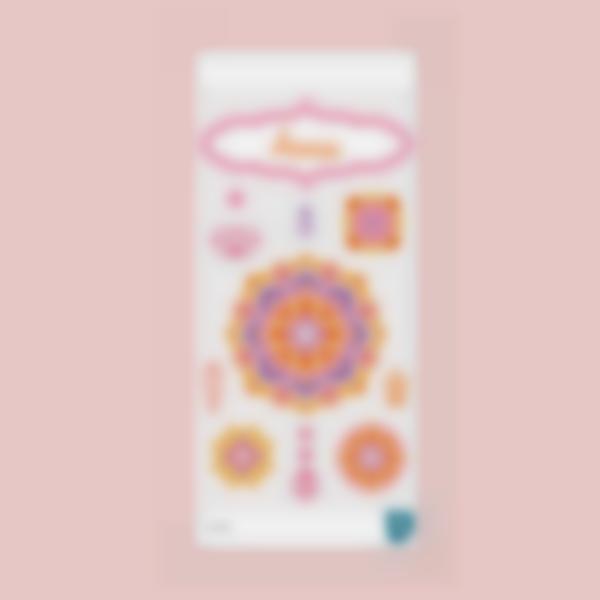 Adesivi decorativi per la Borraccia - Mandala