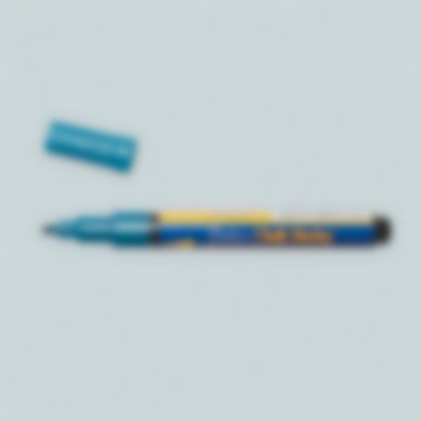 Pennarello a gesso liquido - Azzurro metallico