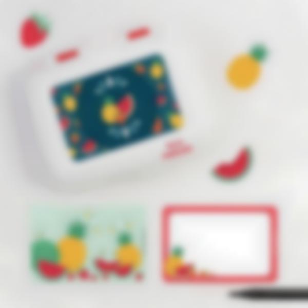 Ludibox - Porta merenda personalizzato