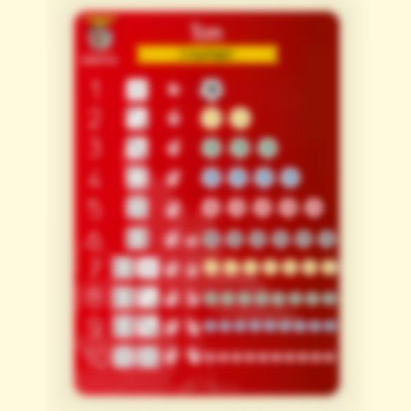 Poster educativo - I Numeri - Benfica