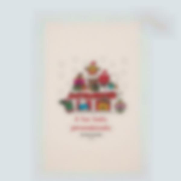 Il Sacco di Babbo Natale personalizzato - Mister Men Little Miss