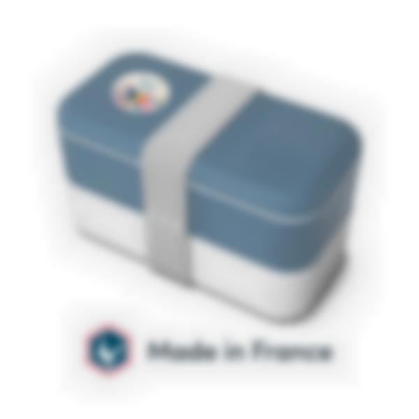 Scatola per adulti - Blu Denim - MB Original Monbento - Made in France