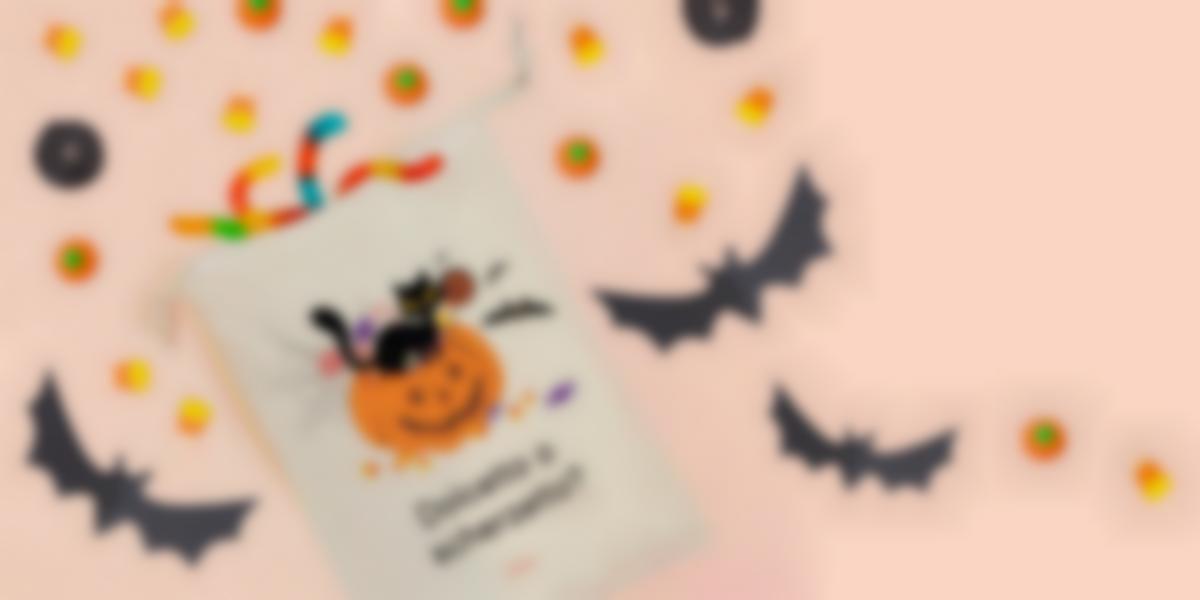 Sacche di dolcetti per Halloween