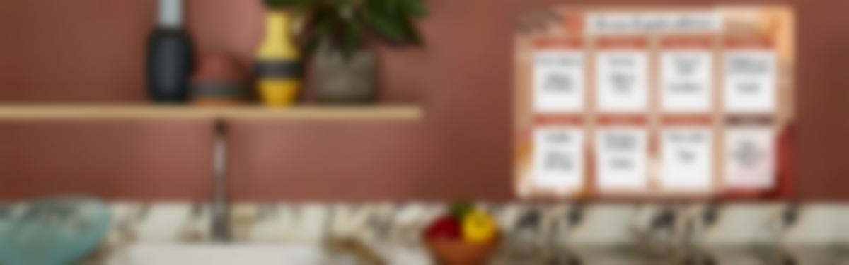Scopri il calendario settimanale Terracotta