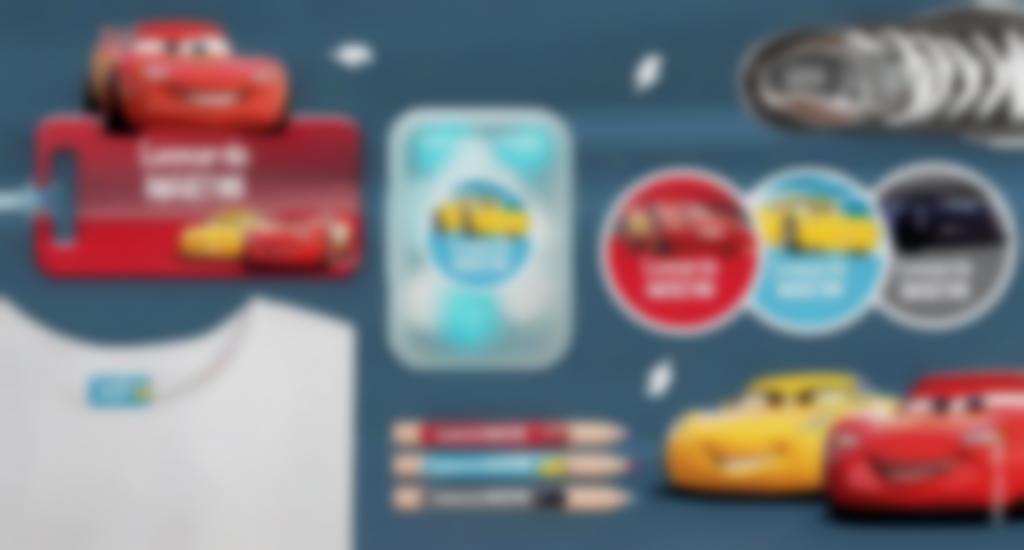 Etichette personalizzate di Cars