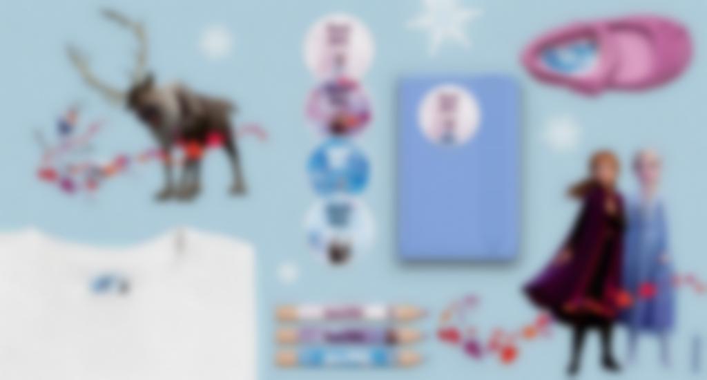 Tutti i nostri formati di etichette con Frozen 2