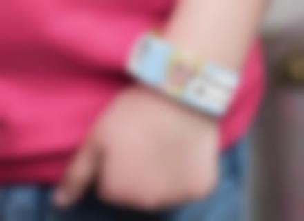 braccialetto di sicurezza per bambini Frozen
