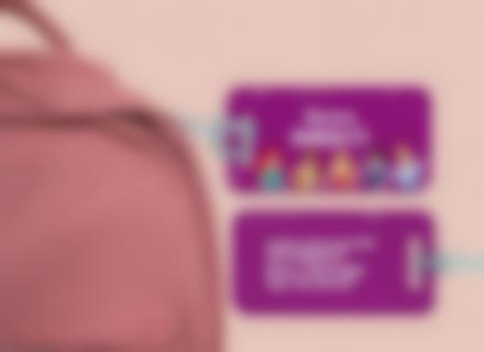 Etichette bagagli Principesse Disney
