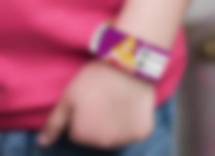 braccialetto di sicurezza per bambini Princesses Disney