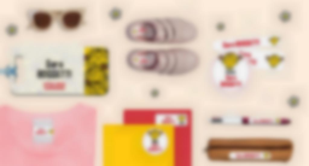 Le etichette personalizzate con i personaggi di LIttle Miss Mister Men