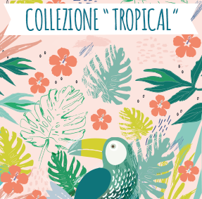 Nuova collezione di etichette Tropical