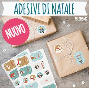 48 etichette per decorare i regali di Natale