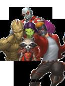 illustrazione Marvel per le etichette nominative